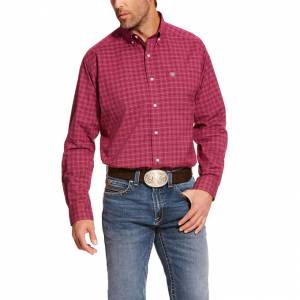 Ariat Mens Pro Series Atticus Stretch Classic Fit Long Sleeve Shirt