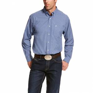 Ariat Mens Pro Series Bacarro Classic Fit Long Sleeve Shirt