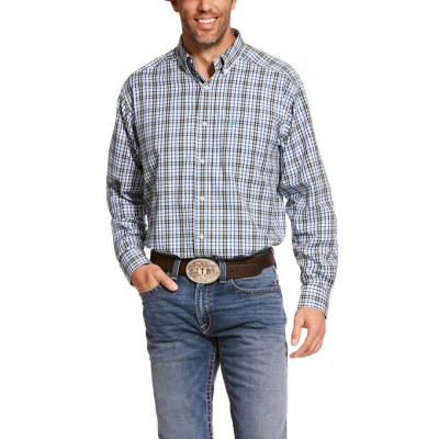 Ariat Mens Pro Series Baccus Classic Fit Long Sleeve Shirt