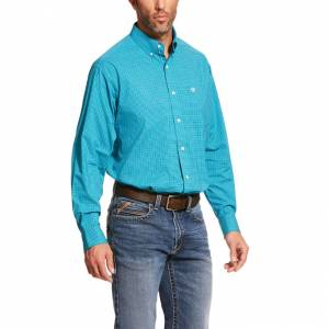 Ariat Mens Pro Series Bachelder Stretch Classic Fit Long Sleeve Shirt