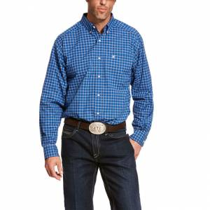 Ariat Mens Pro Series Backlin Classic Fit Long Sleeve Shirt