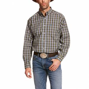 Ariat Mens Pro Series Bahlmann Classic Fit Long Sleeve Shirt