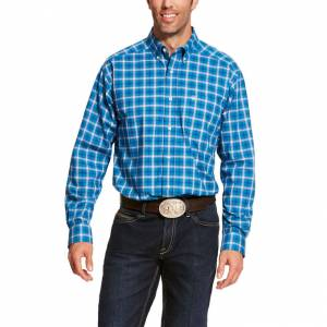 Ariat Mens Pro Series Bandwell Stretch Classic Fit Long Sleeve Shirt
