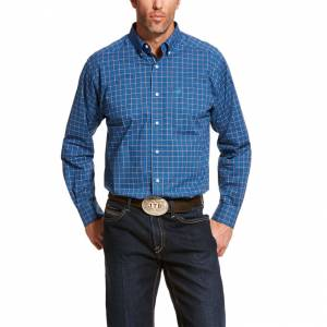 Ariat Mens Pro Series Bardonas Classic Fit Long Sleeve Shirt