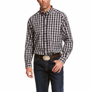Ariat Mens Pro Series Dack Classic Fit Long Sleeve Shirt