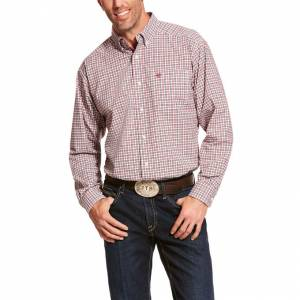 Ariat Mens Pro Series Dagley Stretch Classic Fit Long Sleeve Shirt