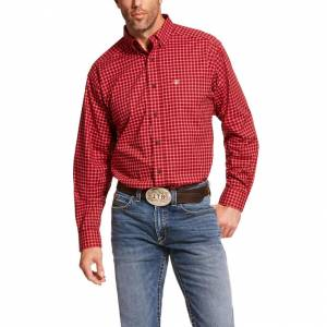 Ariat Mens ProPro Series Dahlsten Stretch Classic Fit Long Sleeve Shirt