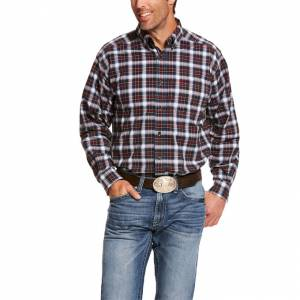 Ariat Mens Pro Series Dannon Stretch Classic Fit Long Sleeve Shirt