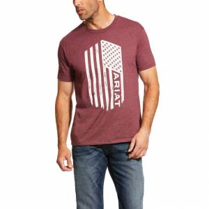 Ariat Mens Angle USA Short Sleeve T-Shirt