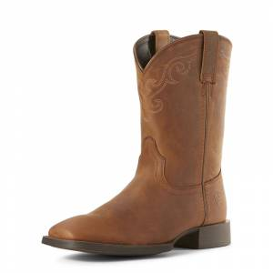 Ariat Ladies Roper Wide Square Toe Western Boots
