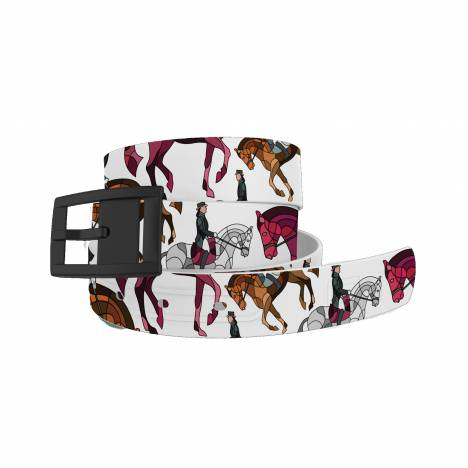 C4 Belt HOTL Dressage Belt with Black Buckle Combo