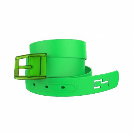 C4 Belt Classic Green Belt with Green Buckle Combo