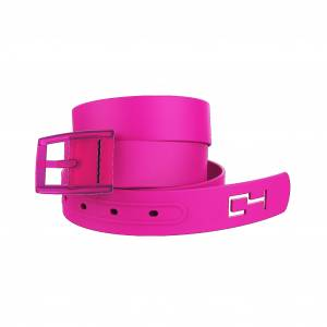 C4 Belt Classic Hot Pink Belt with Hot Pink Buckle Combo