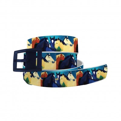 C4 Belt LAW The Guardian Angel Belt with Navy Buckle Combo