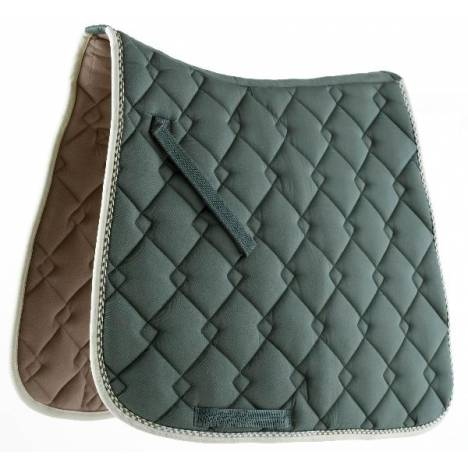 Ecole by Roma Dressage Double Diamond Quilt Saddle Pad