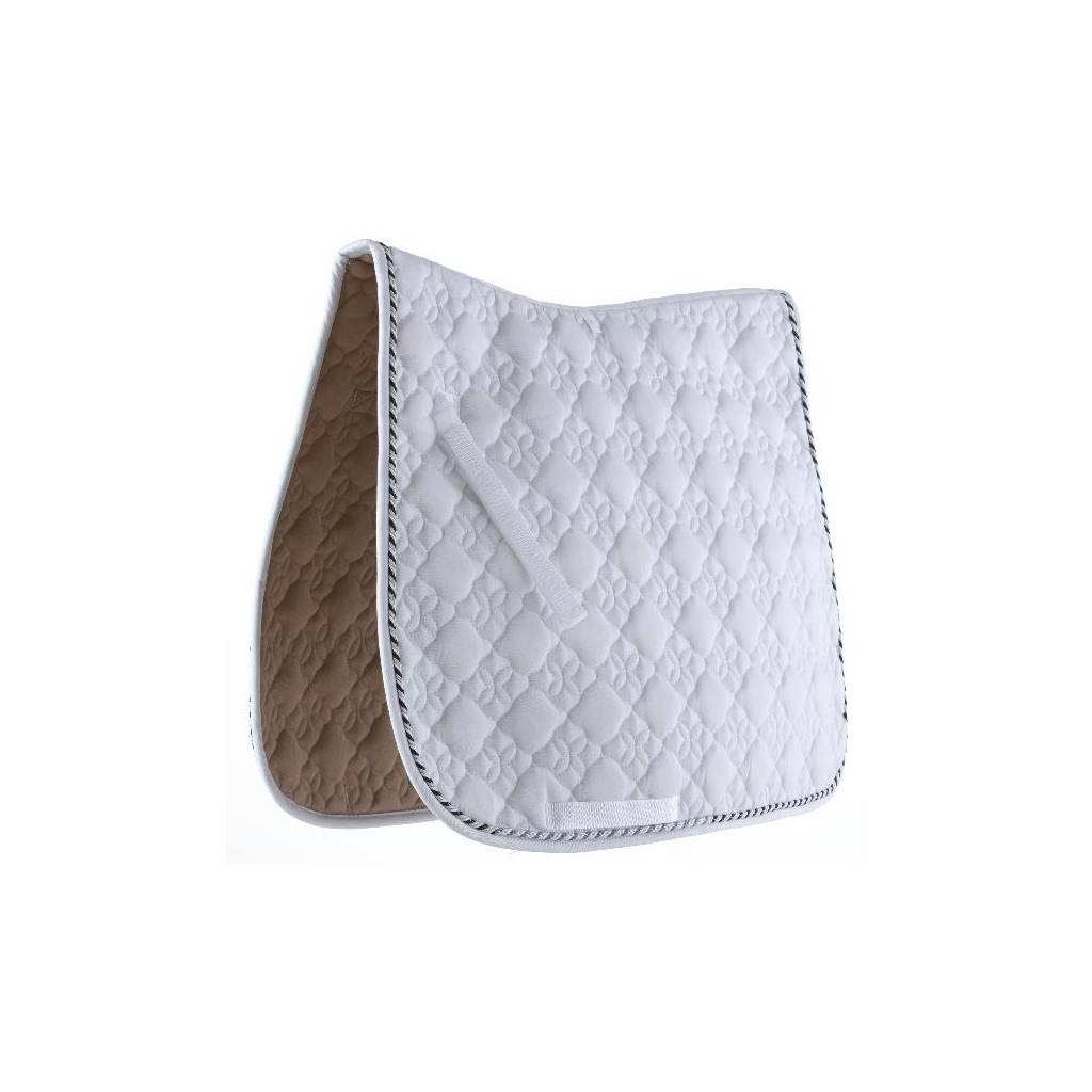 Roma Ecole Flower Diamond Dressage Saddle Pad