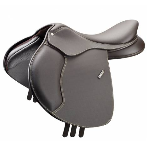 Wintec 500 Flocked Synthetic Close Contact Saddle