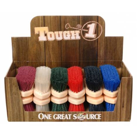 12 Pack Assorted Soft Poly Bristle Brush
