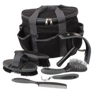 Tough-1 Great Grips 6-Piece Brush Set with  Bag