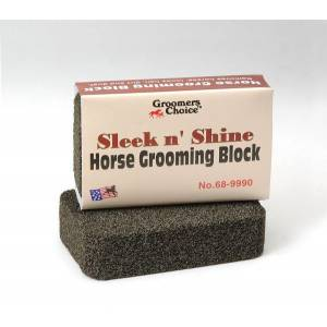 Tough-1 Sleek n' Shine Horse Grooming Block