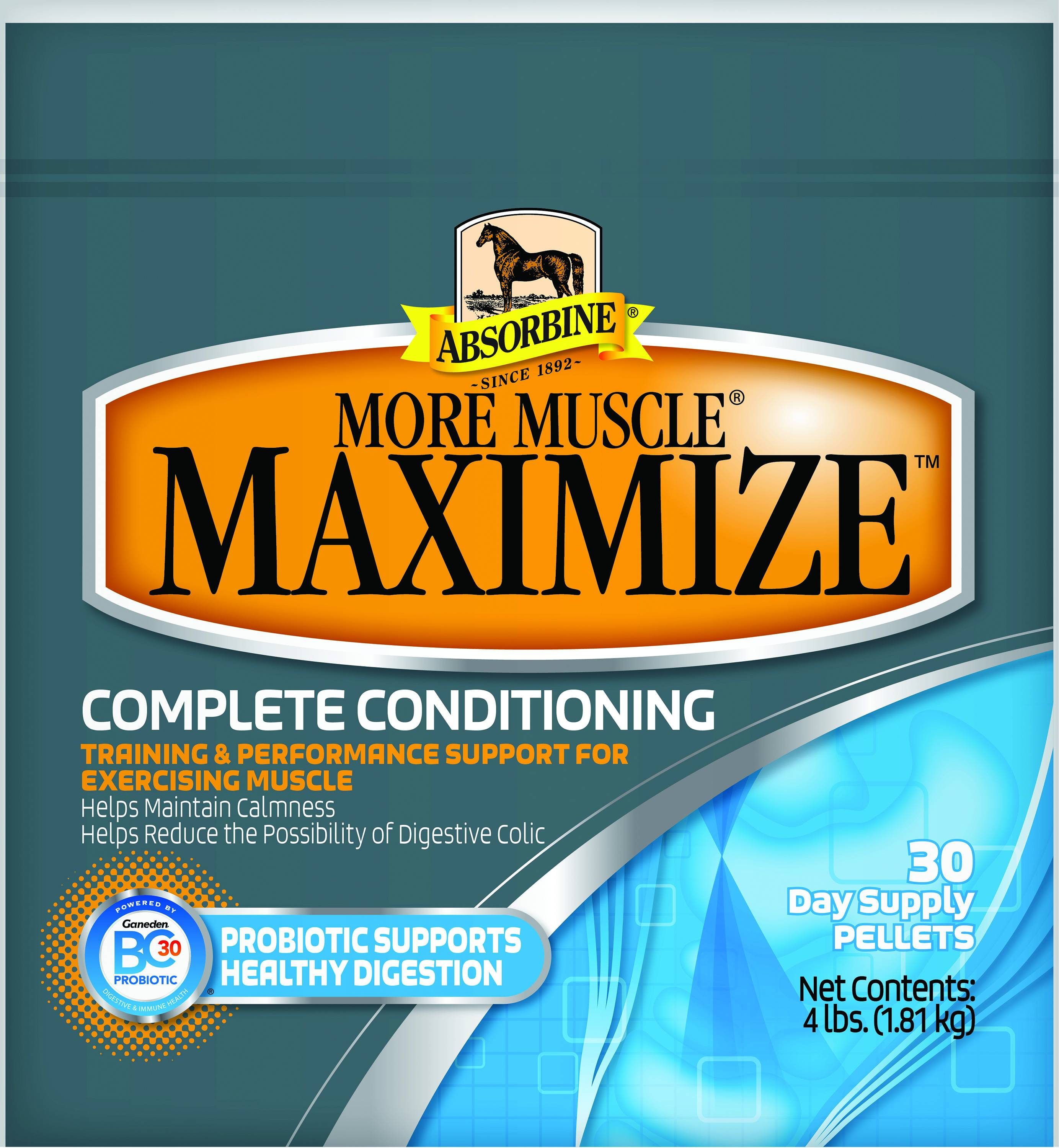 Absorbine More Muscle Maximize 4 lb4730 Day