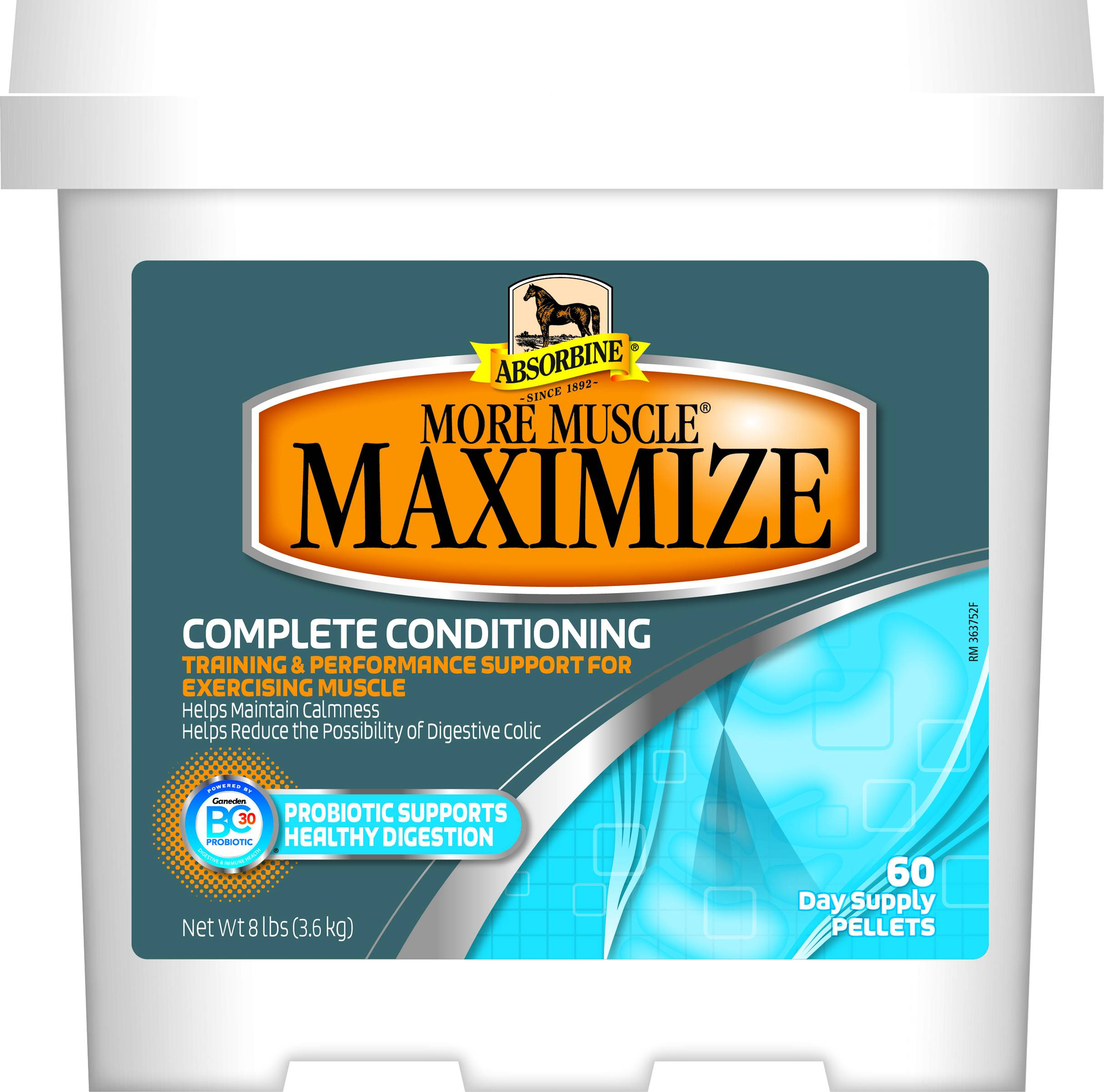 Absorbine More Muscle Maximize 8 lb4760 Day