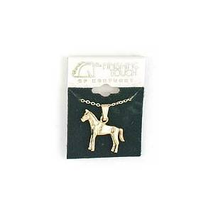 Finishing Touch Standing Horse Necklace