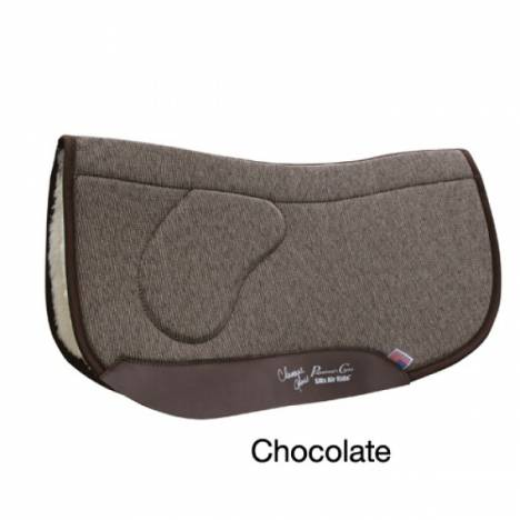 Professionals Choice Charmayne James SMx Air Ride Orthosport Barrel Saddle Pad (Square)
