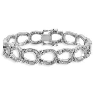Kelly Herd Horseshoe Bracelet - Sterling Silver