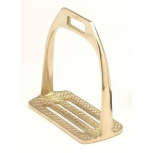 Australian Outrider Collection 4 Bar Brass Stirrup Irons