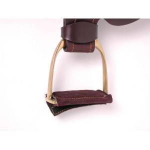 Australian Outrider Collection Leather Stirrup Pad