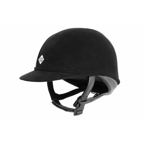 Charles Owen Wellington Professional Helmet - Black Harness