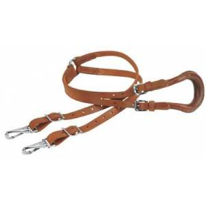 Weaver Leather Crupper with Double Strap and Buckles