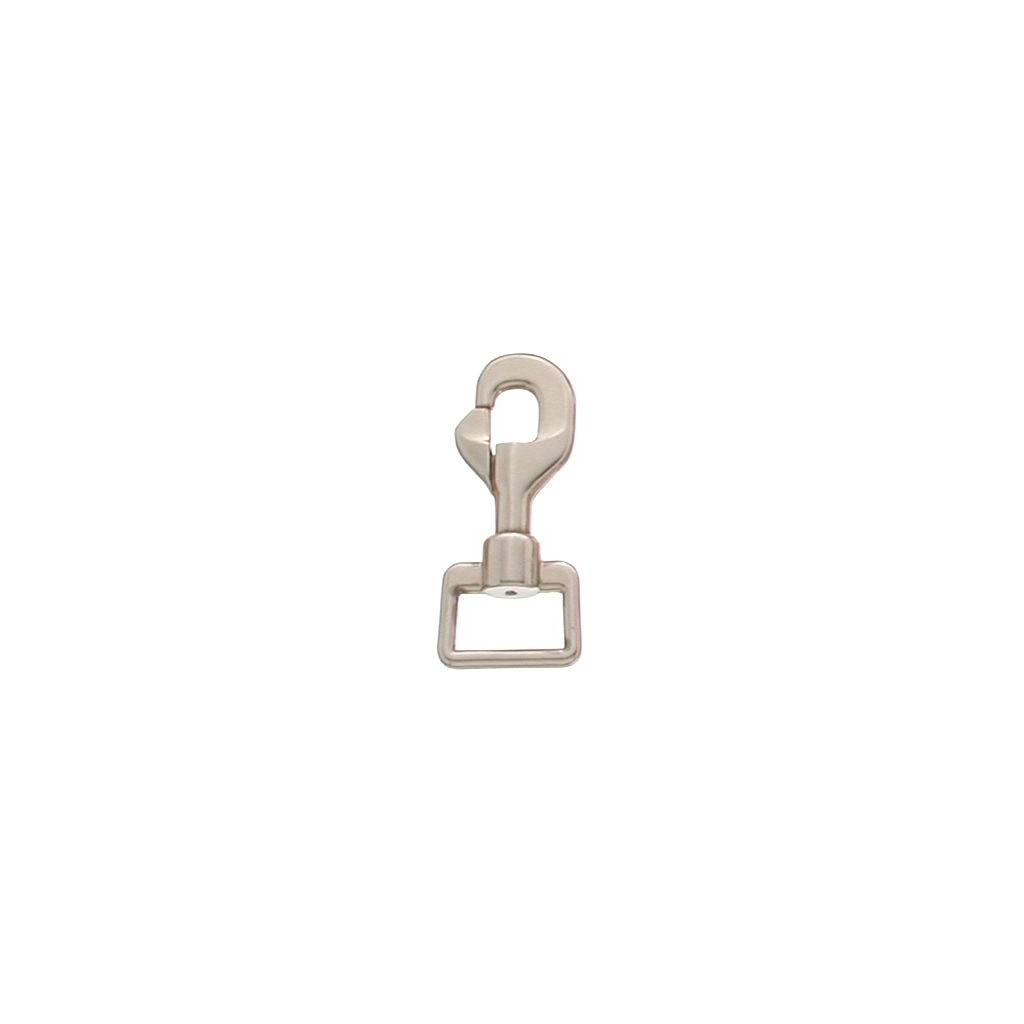 Tough-1 Nickel Plated Deluxe Swivel Snap