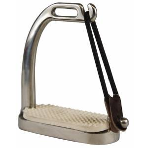 Henri de Rivel Peacock Stirrup with Pads