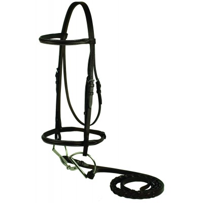 Gatsby Plain Raised Bridle