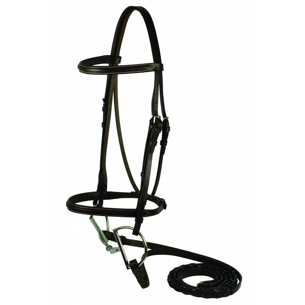Gatsby Square Raised Bridle