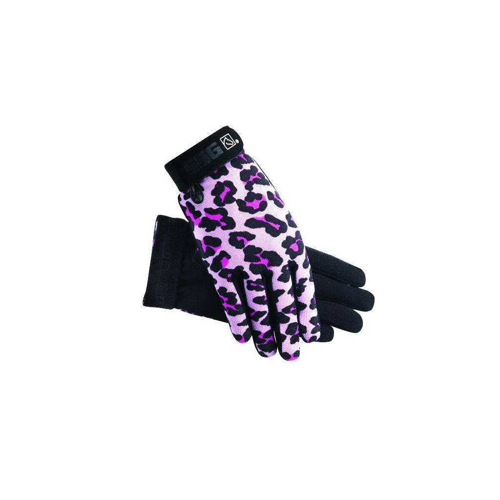 SSG Kids All Weather Gloves - Pink Leopard