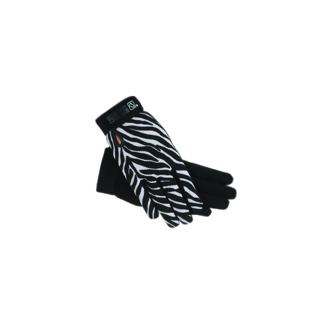 SSG Kids All Weather Gloves - Zebra