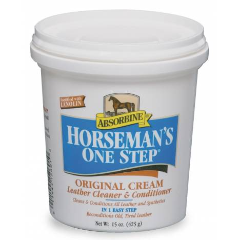 Absorbine Horsemans 1 Step Leather Cleaner