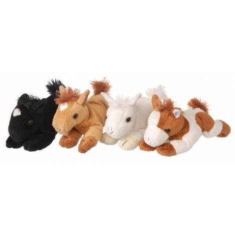 "Gift Corral Plush Horse With Sound 7"" ASSt"