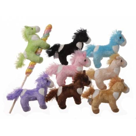 Gift Corral Plush Horse On Twisted Lollipop