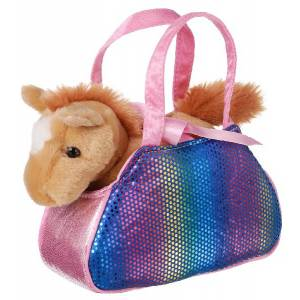 Gift Corral Fancy Pal Horse with Pet Carrier
