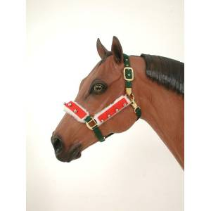 Holiday Halter/Bridle Set from Tough-1