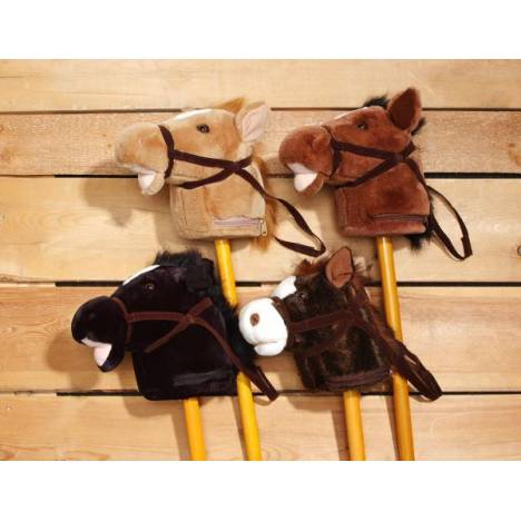 Plush Stick Horse with Sound