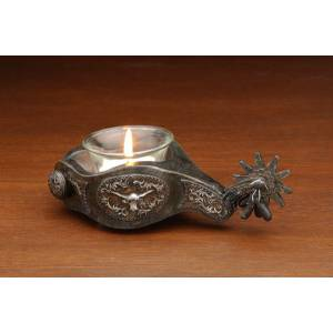 Western Spur Votive Holder