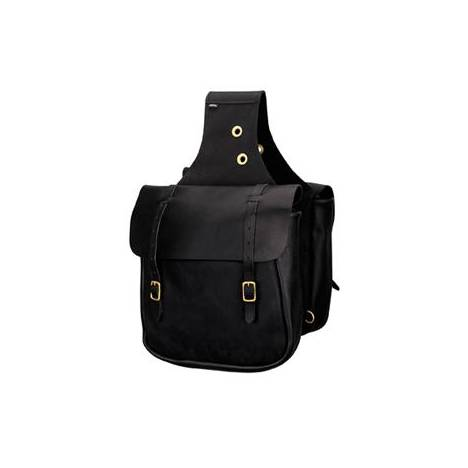 Weaver Chap Leather Saddle Bags