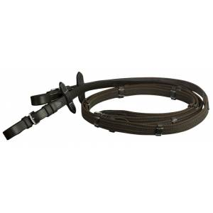 DaVinci Web Anti-Slip Reins with Buckle Ends