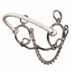 Professionals Choice Brittany Pozzi Combo Smooth Snaffle Bit