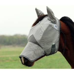 Cashel Crusader Fly Mask - Long Nose with Ears